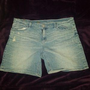 LC denim shorts
